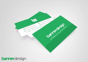 کارت ویزیت طراحی بنر دیزاین